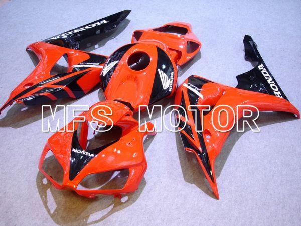Honda CBR1000RR 2006-2007 Injection ABS Fairing - Factory Style - Black Orange - MFS5988