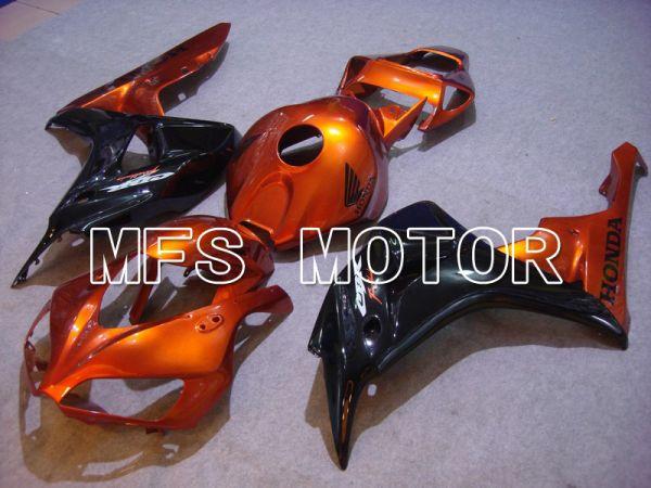 Honda CBR1000RR 2006-2007 Injection ABS Fairing - Factory Style - Black Orange - MFS5989