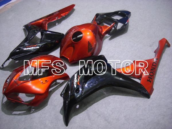 Honda CBR1000RR 2006-2007 Injection ABS Fairing - Factory Style - Black Orange - MFS5990