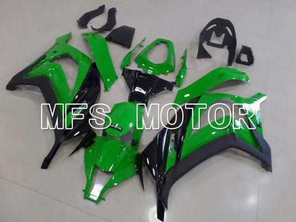 Kawasaki NINJA ZX10R 2011-2015 Injection ABS Fairing - Factory Style - Black Green - MFS6013