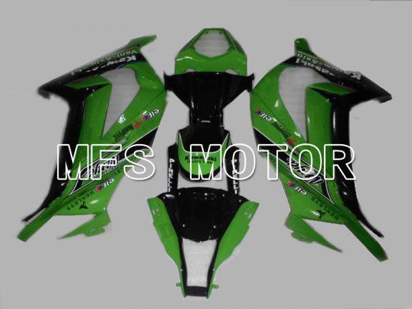 Kawasaki NINJA ZX10R 2011-2015 Injection ABS Fairing - Others - Black Green - MFS6014