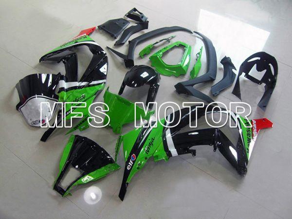 Kawasaki NINJA ZX10R 2011-2015 Injection ABS Fairing - Others - Black Green - MFS6018