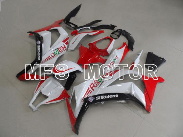 Kawasaki NINJA ZX10R 2011-2015 Injection ABS Fairing - Others - Red White - MFS6028
