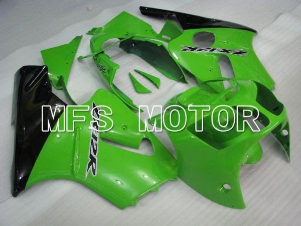 Kawasaki NINJA ZX12R 2000-2001 Injection ABS Fairing - Factory Style - Black Green - MFS6039