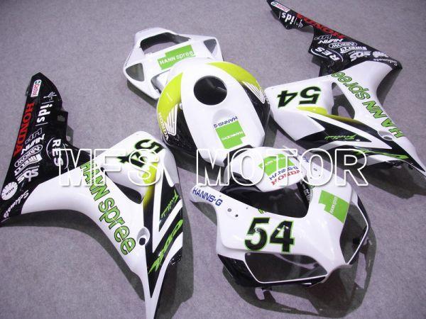 Honda CBR1000RR 2006-2007 Injection ABS Fairing - HANN Spree - White Green - MFS6047
