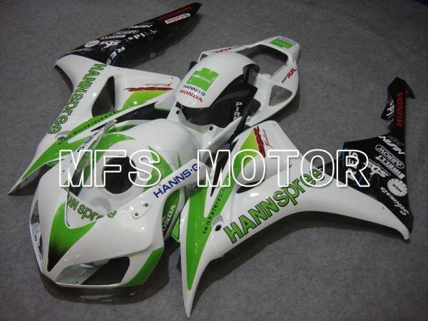 Honda CBR1000RR 2006-2007 Injection ABS Fairing - HANN Spree - White Green - MFS6048