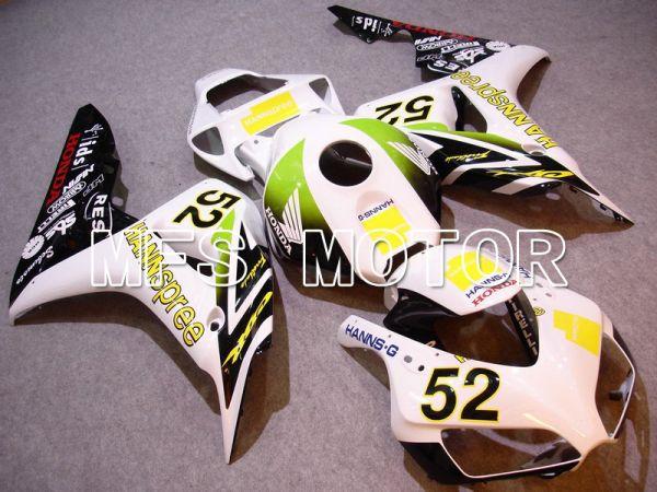 Honda CBR1000RR 2006-2007 Injection ABS Fairing - HANN Spree - White Green - MFS6049