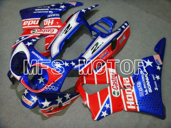 Honda CBR900RR 893 1992-1993 ABS Fairing - Castrol - Blue Red - MFS6052