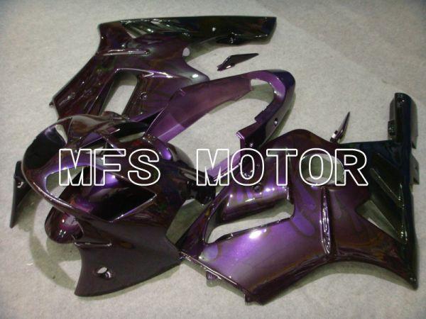 Kawasaki NINJA ZX12R 2002-2005 Injection ABS Fairing - Flame - Black Purple - MFS6061