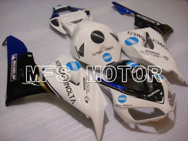 Honda CBR1000RR 2006-2007 Injection ABS Fairing - Konica Minolta - White - MFS6062