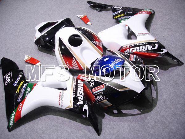 Honda CBR1000RR 2006-2007 Injection ABS Fairing - CARRERA - Black White - MFS6066