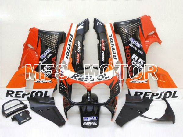Honda CBR900RR 893 1992-1993 ABS Fairing - Repsol - Black Red Orange - MFS6080