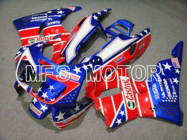 Honda CBR900RR 919 1996-1997 ABS Fairing - Castrol - Red Blue - MFS6082