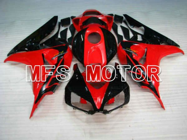 Honda CBR1000RR 2006-2007 Injection ABS Fairing - Factory Style - Black Red - MFS6086