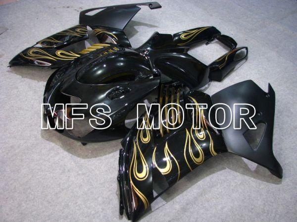 Kawasaki NINJA ZX14R 2006-2011 Injection ABS Fairing - Flame - Black Gold - MFS6092