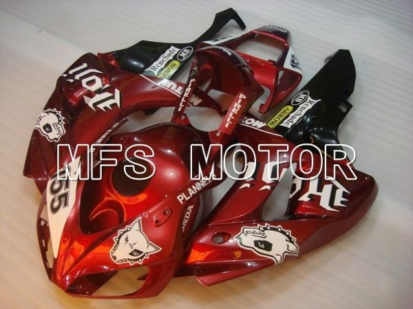 Honda CBR1000RR 2006-2007 Injection ABS Fairing - Others - Red White - MFS6094