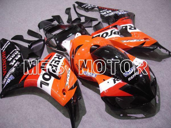 Honda CBR1000RR 2006-2007 Injection ABS Fairing - Repsol - Orange Red Black - MFS6106