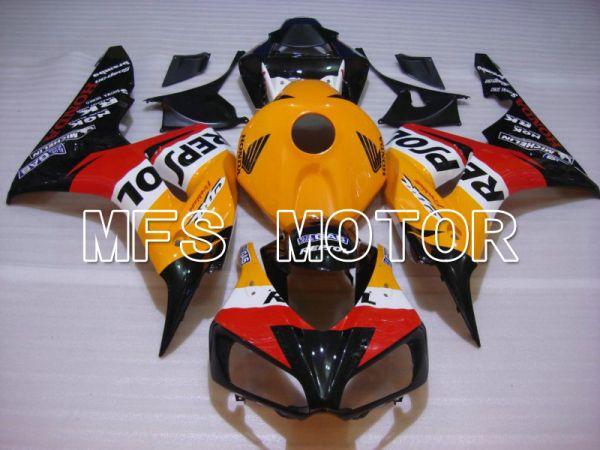 Honda CBR1000RR 2006-2007 Injection ABS Fairing - Repsol - Orange Red Black - MFS6107