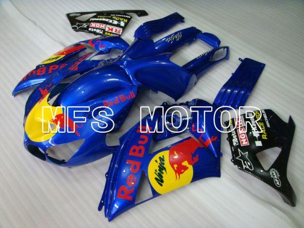 Kawasaki NINJA ZX14R 2006-2011 Injection ABS Fairing - Red Bull - Blue - MFS6108