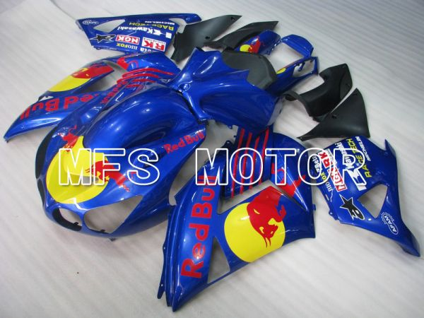 Kawasaki NINJA ZX14R 2006-2011 Injection ABS Fairing - Red Bull - Blue - MFS6110