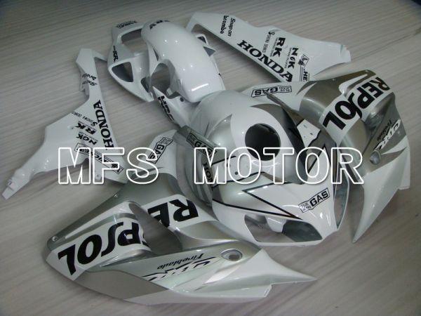 Honda CBR1000RR 2006-2007 Injection ABS Fairing - Repsol - White Silver - MFS6112