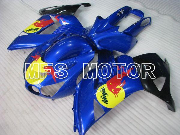 Kawasaki NINJA ZX14R 2006-2011 Injection ABS Fairing - Red Bull - Blue - MFS6113