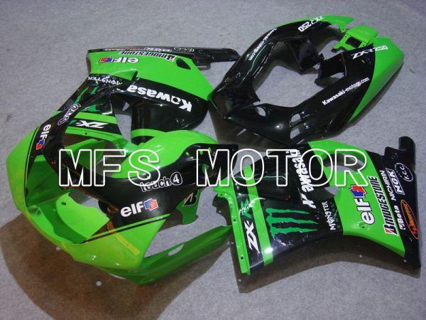 Kawasaki Ninja ZX-2R/ZXR250 1993-1996 ABS Fairing - Monster - Black Green - MFS6124