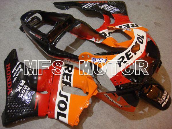 Honda CBR900RR 919 1996-1997 ABS Fairing - Repsol - Black Orange Red - MFS6138