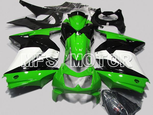Kawasaki NINJA EX250 2008-2012 Injection ABS Fairing - Factory Style - Black Green - MFS6140