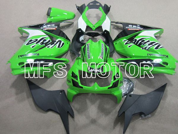 Kawasaki NINJA EX250 2008-2012 Injection ABS Fairing - Factory Style - Green - MFS6149