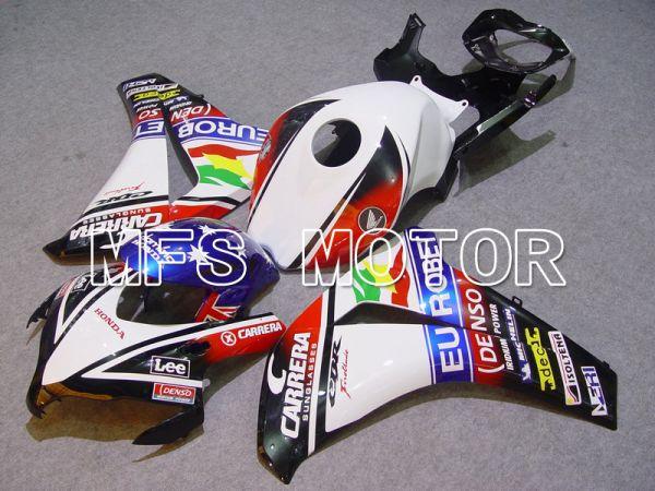 Honda CBR1000RR 2008-2011 Injection ABS Fairing - CARRERA - Black White - MFS6179