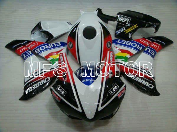 Honda CBR1000RR 2008-2011 Injection ABS Fairing - CARRERA - Black White - MFS6181