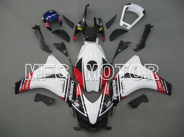 Honda CBR1000RR 2008-2011 Injection ABS Fairing - CARRERA - Black White - MFS6184