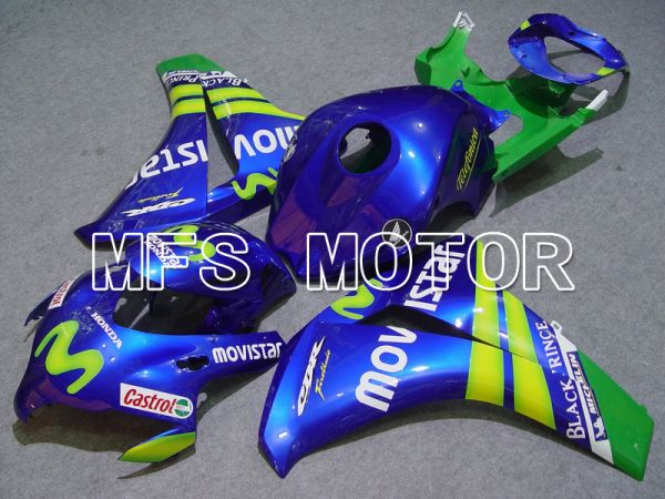 Honda CBR1000RR 2008-2011 Injection ABS Fairing - Movistar - Blue - MFS6186