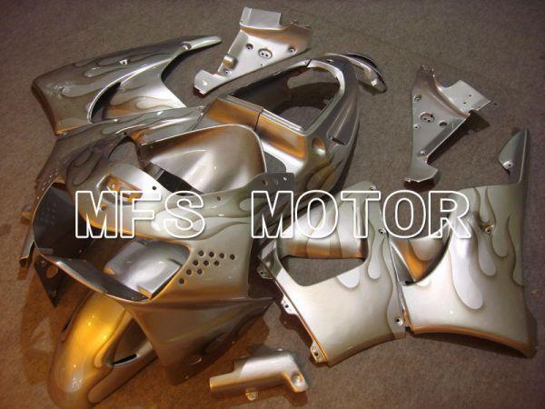 Honda CBR900RR 919 1998-1999 ABS Fairing - Flame - Silver - MFS6187
