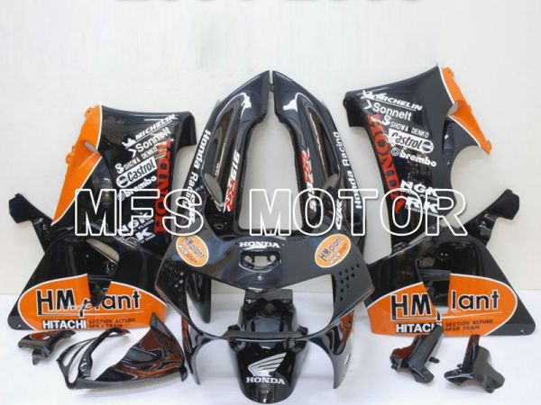 Honda CBR900RR 919 1998-1999 ABS Fairing - HM Plant - Black Orange - MFS6189
