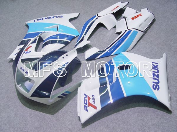 Suzuki RGV250 VJ22 1990-1995 ABS Fairing - Factory Style - White Blue - MFS6191
