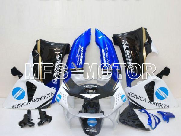 Honda CBR900RR 919 1998-1999 ABS Fairing - Konica Minolta - Black White - MFS6192
