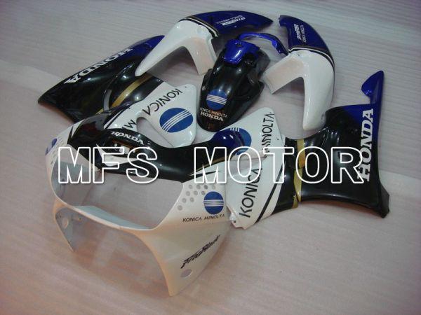 Honda CBR900RR 919 1998-1999 ABS Fairing - Konica Minolta - Black White - MFS6193