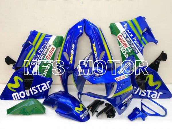 Honda CBR900RR 919 1998-1999 ABS Fairing - Movistar - Blue - MFS6196