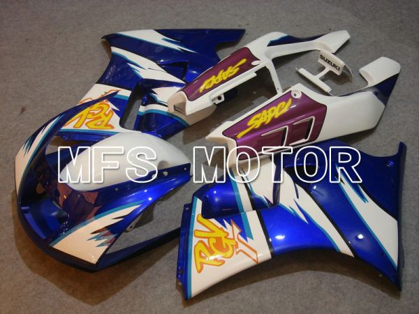 Suzuki RGV250 VJ22 1990-1995 ABS Fairing - Factory Style - White Blue - MFS6197