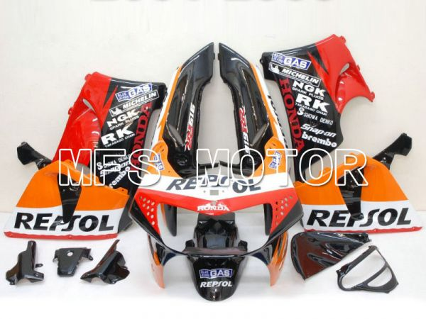 Honda CBR900RR 919 1998-1999 ABS Fairing - Repsol - Black Red Orange - MFS6201