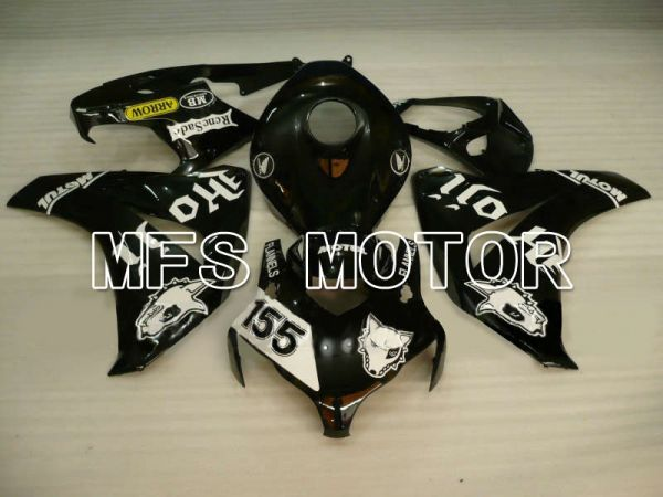Honda CBR1000RR 2008-2011 Injection ABS Fairing - PIRELLI - Black - MFS6207