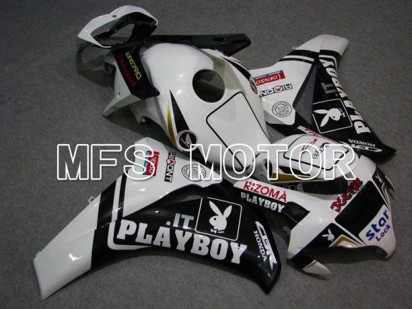 Honda CBR1000RR 2008-2011 Injection ABS Fairing - PlayBoy - Black White - MFS6210