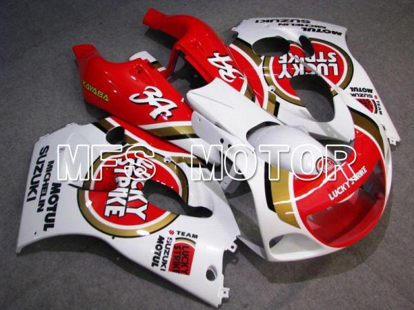 Suzuki RGV250 VJ23 1996-1999 ABS Fairing - Lucky Strike - Red White - MFS6214