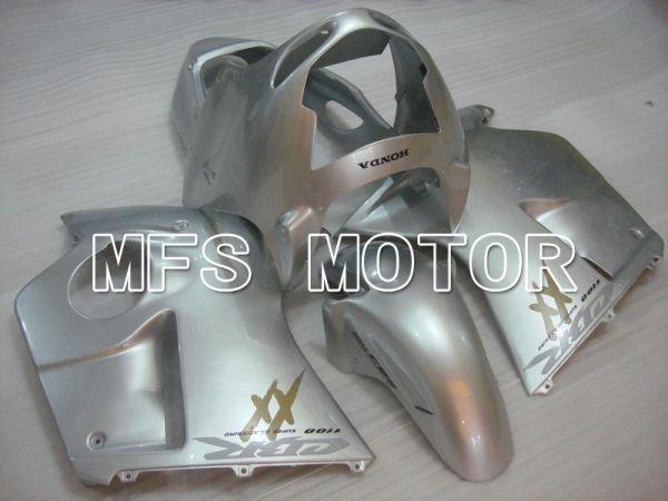 Honda CBR1100XX 1996-2007 Injection ABS Fairing - Factory Style - Silver - MFS6220