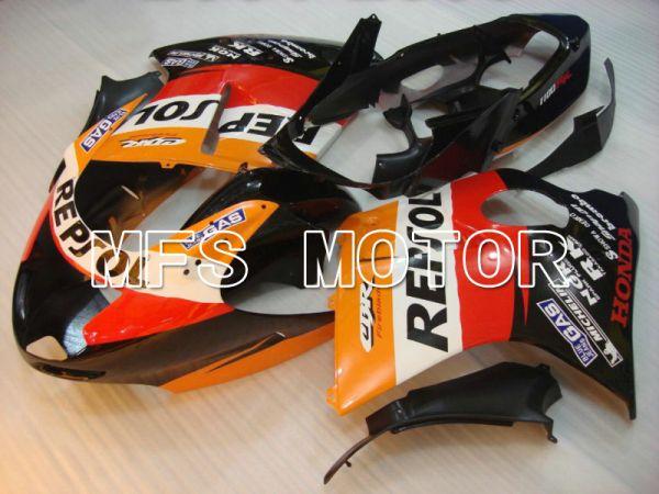 Honda CBR1100XX 1996-2007 Injection ABS Fairing - Repsol - Black Orange Red - MFS6222