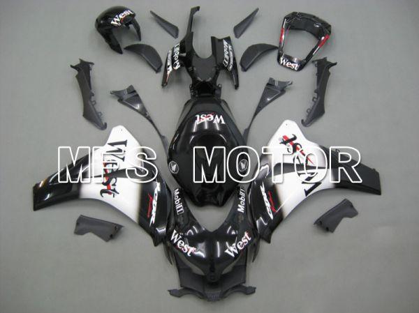 Honda CBR1000RR 2008-2011 Injection ABS Fairing - West - Black White - MFS6229