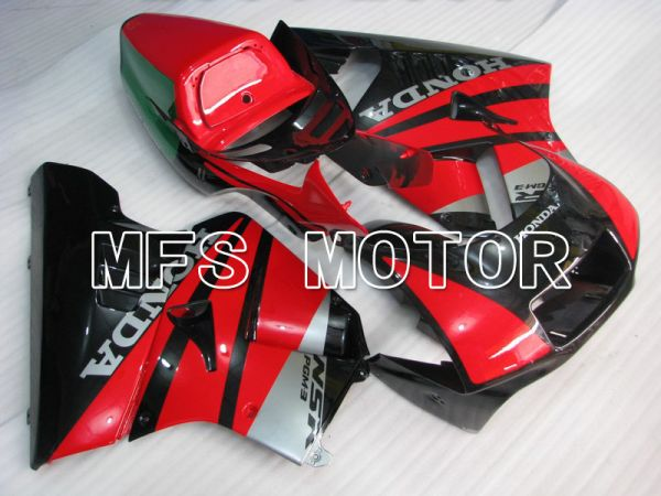 Honda NSR250 MC21 P3 1990-1993 Injection ABS Fairing - Factory Style - Red Black - MFS6240