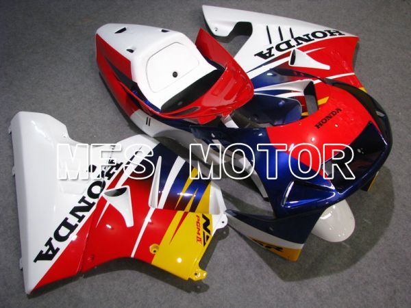 Honda NSR250 MC21 P3 1990-1993 Injection ABS Fairing - Factory Style - Red White Blue - MFS6242